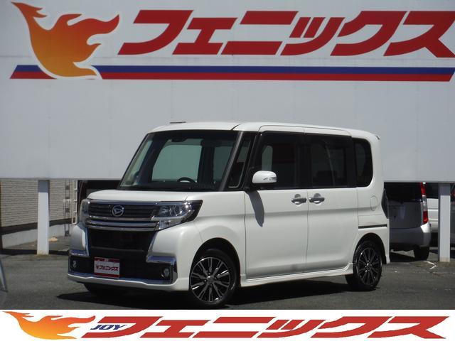 ダイハツ カスタムX トップエディションSAII社外メモリーナビ地デジ