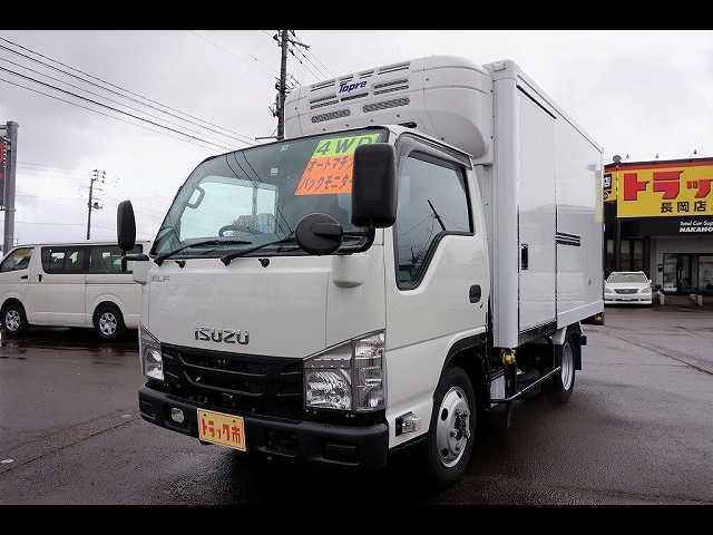 いすゞ 1.5t 4WD FFL Wタイヤ 中温冷凍車
