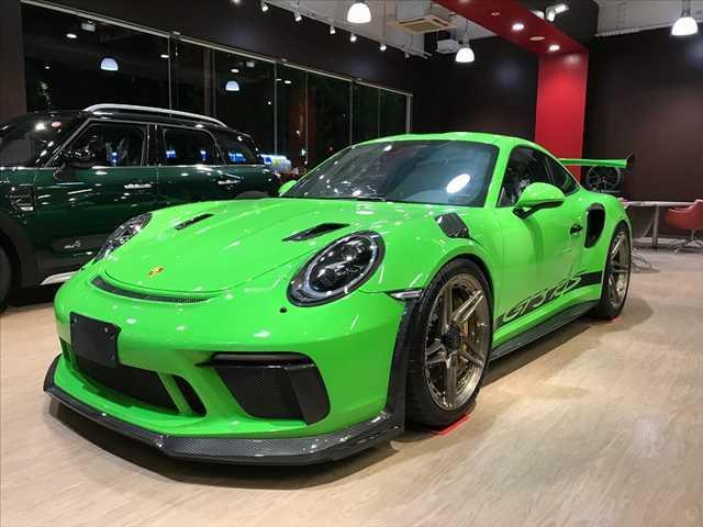 ポルシェ GT3RS  PCCB TECH ART&AKRAPOVIC