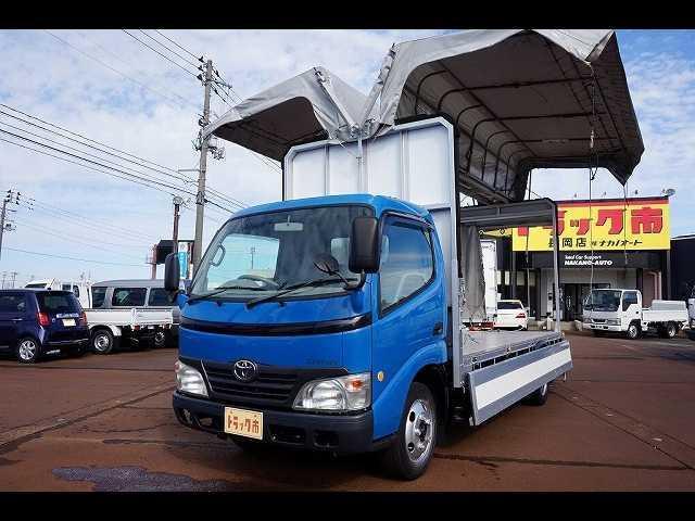トヨタ ダイナトラック 2t FJL 標準ロング 手動幌ウイング