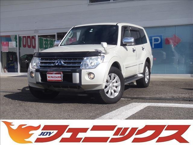 三菱 SPロングEXD4WD-DゼルTB本革HDD地デジサンR付