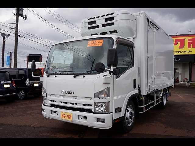 いすゞ 2.95t 高床 ワイドロング 低温冷凍車