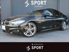 BMW420iグランクーペ Mスポーツ ACC インテリセーフ 革