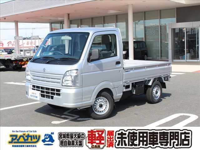スズキ KCエアコンパワステ 5速MT4WD軽トラック届出済未使用車