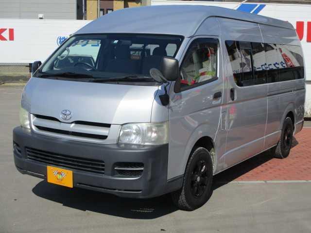 トヨタ ハイエースコミューター スーパーロングGL 4WD ETC エアバッグ ABS