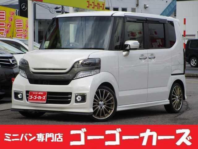 ホンダ N-BOXカスタム カスタムG SSパッケージ 4WD 電動スライド ナビ TV