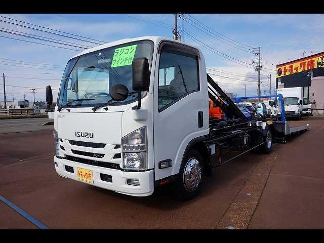 いすゞ 2.95t FFL ワイド超ロング キャリアカー