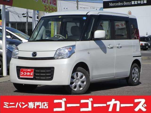 マツダ フレアワゴン XS 4WD 左電動スライド ナビ TV バックカメラ