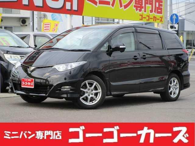 トヨタ アエラスGエディション 4WD 両電動スライド バックカメラ