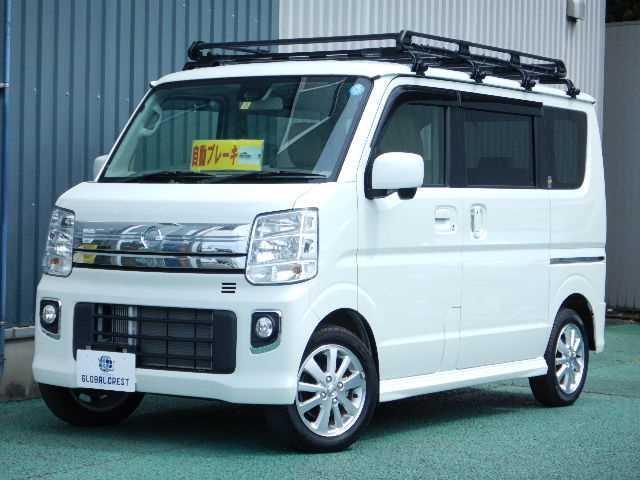 日産 標準ルーフ E 4WD ナビ/TV エマブレ