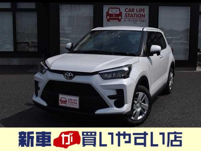 「トヨタ」「ライズ」「SUV・クロカン」「埼玉県」「新車が買いやすい店」の中古車