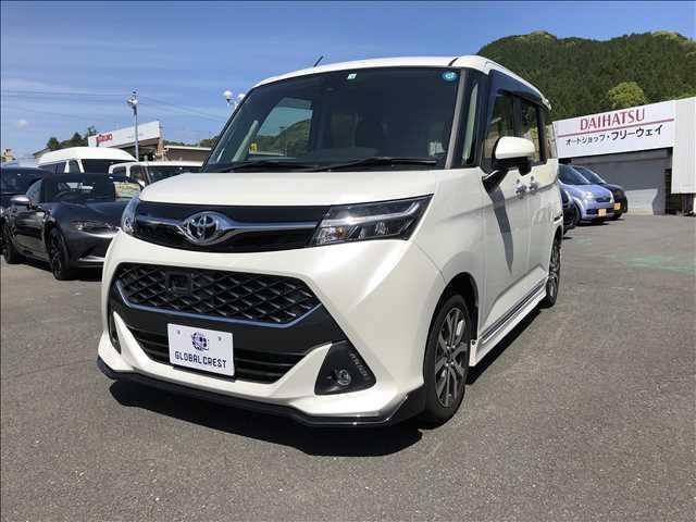 トヨタ タンク カスタムG-T 禁煙車 メモリーナビ ETC バックカメラ