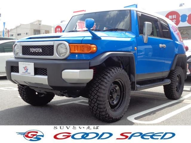 トヨタ FJクルーザー FJクルーザー SDナビTV 2inリフトアップ 4WD