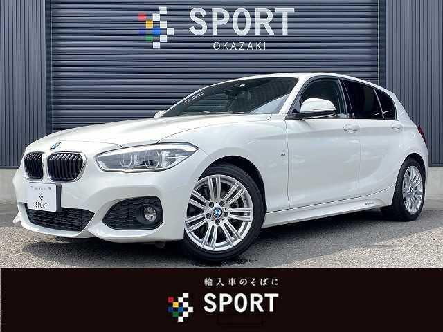 BMW 118d Mスポーツ 純正HDDTV Bカメラ インテリジェントセーフティ クルコン LED スマートキー 純正AW アイドリングストップ アルカンターラ iドライブ