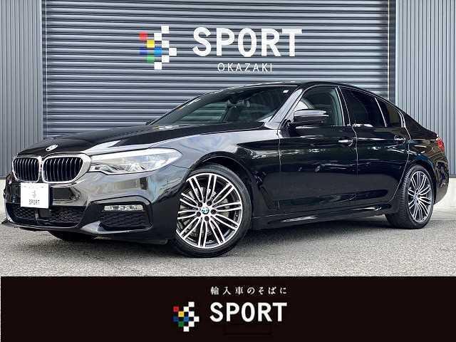 BMW 523d Mスポーツ HDD 全カメラ セーフティ 黒革