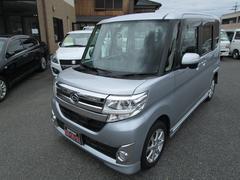 タントカスタムX SA 4WD 純正ナビ