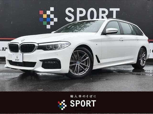 BMW 5シリーズ 523dツーリング Mスピリット アクティブクルーズコントロール インテリジェントセーフティ HDDナビ フルセグ バックカメラ パワーシート パワーバックドア LEDヘッドライト 純正アルミ ミラーインETC