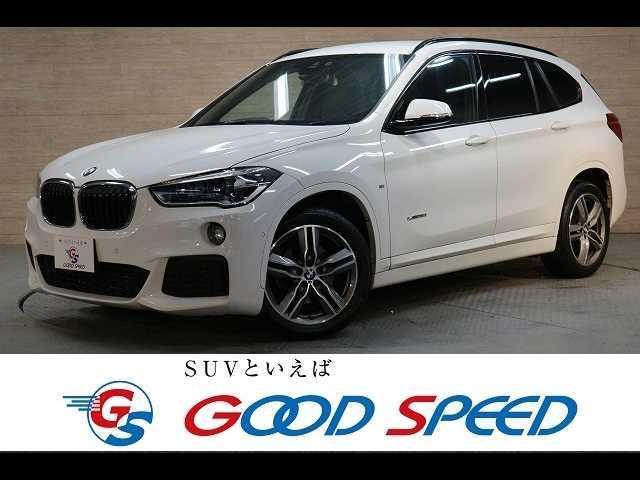 BMW X1 sDrive 18i Mスポーツ 純正HDDナビ バックカメラ ETC コーナーセンサー クルーズコントロール パワーバックドア Bluetooth コンフォートアクセス アイドリングストップ LED