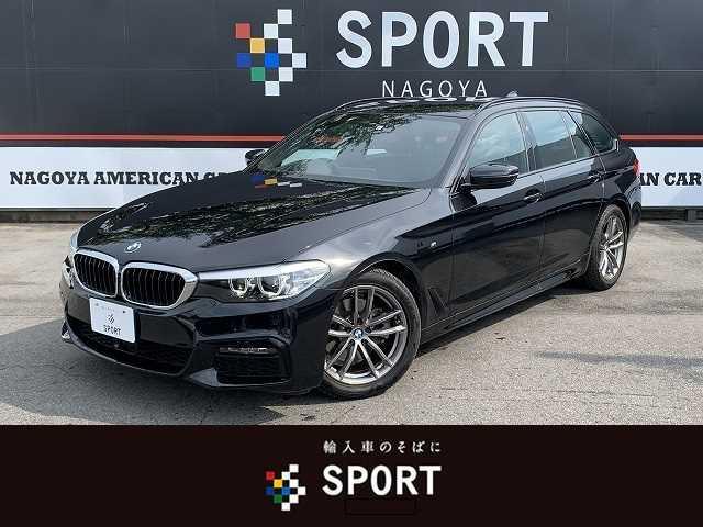 BMW 5シリーズ 523dツーリング Mスピリット アクティブクルーズコントロール インテリジェントセーフティ 純正HDDナビ フルセグ 全方位カメラ パワーバックドア LEDヘッドライト 純正アルミホイール ミラーインETC