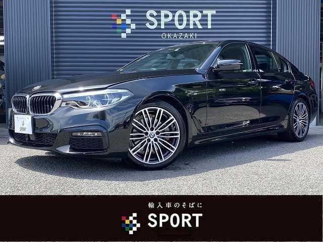 BMW 523d Mスポーツ HDDTV 全カメラ インテリS 黒革