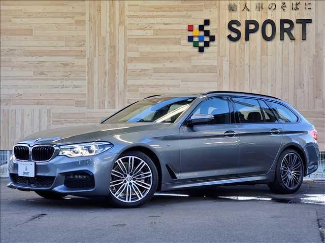 BMW 5シリーズ 523i ツーリングMスポーツ ACC インテリセーフ ナビ