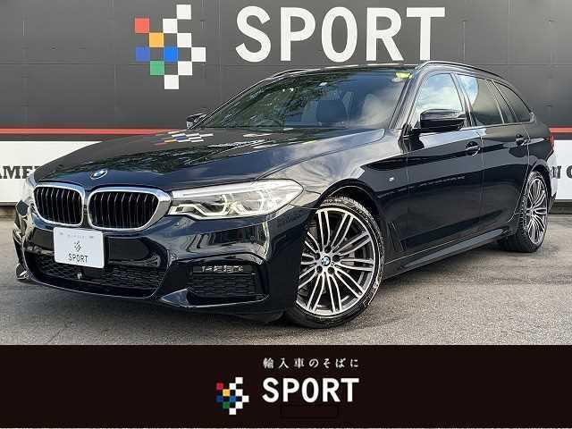 BMW 5シリーズ 523d ツーリングMスポーツ 黒革 ACC インテリセーフ