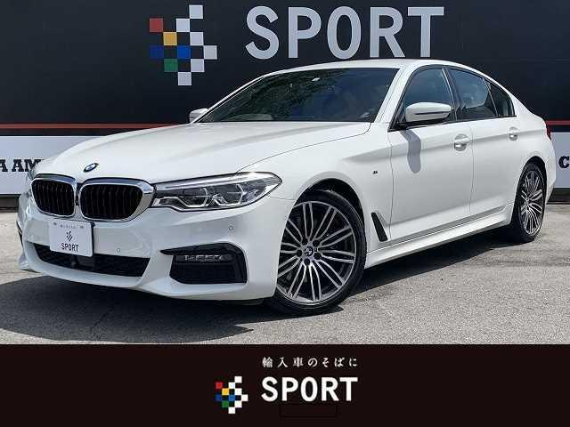 BMW 5シリーズ 530i Mスポーツ 純正ナビ ACC インテリセーフ 黒革
