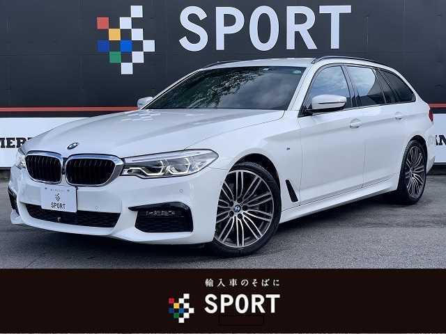 BMW 5シリーズ 523i ツーリングMスポーツ 黒革 ACC インテリセーフ