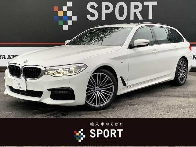 BMW 5シリーズ 523iツーリングMスポーツ SR 純正ナビTV 革 ACC