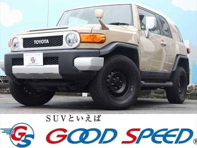トヨタ FJクルーザー FJクルーザー 4WD カラーパッケージ ETC