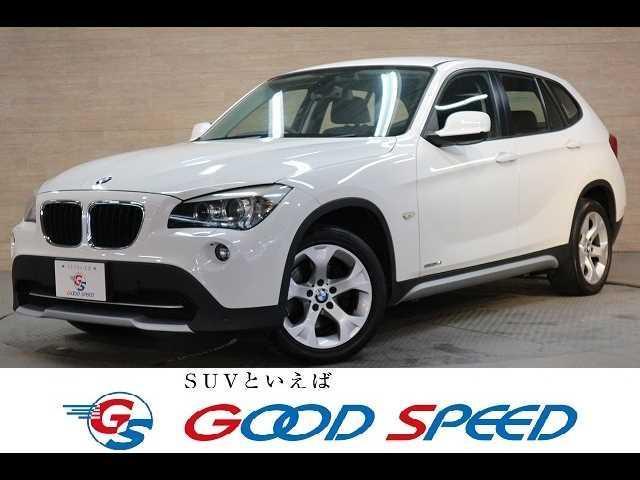 BMW X1 sDrive 18i 純正HDDナビ CD、DVD再生 ETC コーナーセンサー オートエアコン HID オートエアコン 純正アルミ