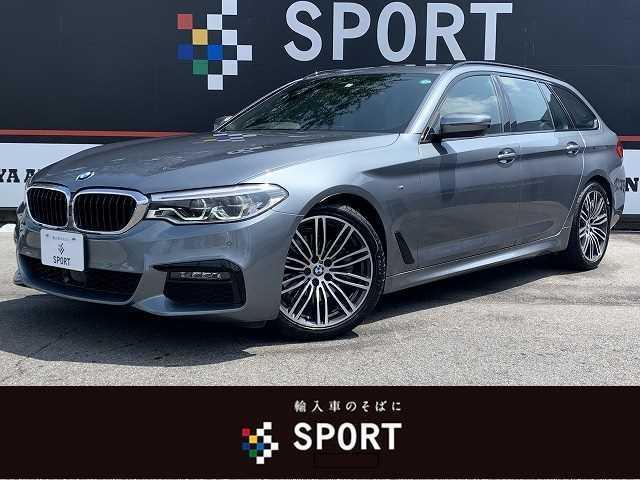 BMW 523iツーリングMスポーツ SR 黒革 全席シートヒーター