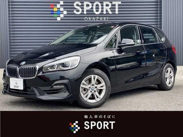 BMW 218iアクティブツアラー インテリジェントセーフティ 純正HDDナビ バックカメラ ステアリングスイッチ ミラーインETC 純正アルミホイール Bluetooth HIDヘッドライト
