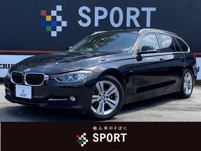 BMW 3シリーズ 320dツーリング スポーツ 純正HDDナビ バックカメラ 赤革シート シートヒーター・メモリー ミラーインETC HIDヘッドライト コンフォートアクセス パワーバックドア Bluetooth DVD再生 ミュージックサーバー