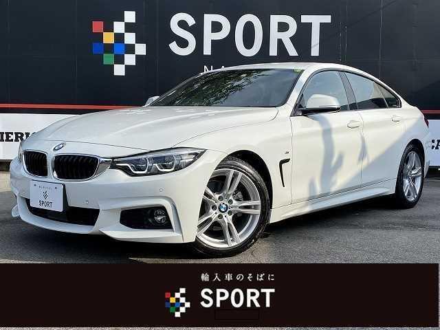 BMW 4シリーズ 420iグランクーペ Mスポーツ ACCインテリセーフ 赤革