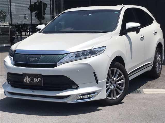 トヨタ ハリアー PREMIUM 3眼LEDヘッドライト セーフティセンス