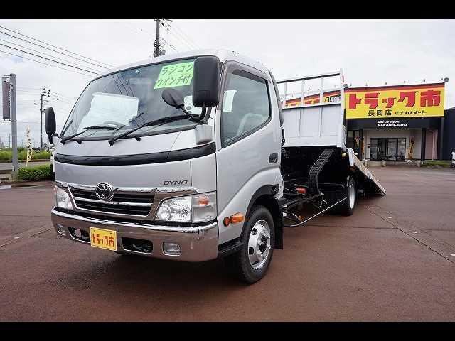 トヨタ ダイナトラック 3t FJL ワイド超ロング 一般用キャリアカー