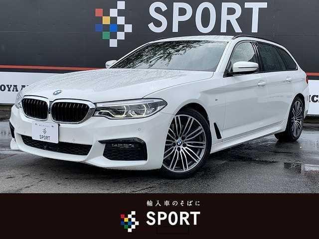 BMW 530iツーリング Mスポーツ 530i ツーリングMスポーツ 本革 アクティブクルーズ インテリセーフ 純正ナビTV 全方位カメラ 全席シートヒーター パワーバックドア