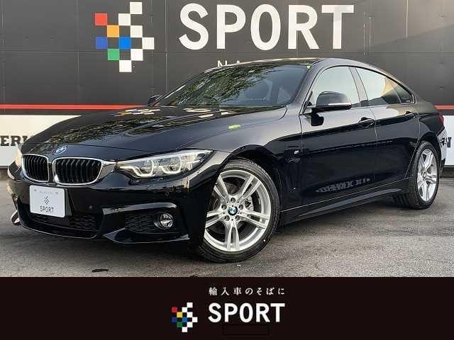 BMW 420iグランクーペ Mスポーツ アクティブクルーズコントロール インテリジェントセーフティ 純正ナビ バックカメラ シートメモリー パワーバックドア LEDヘッド ミラーインETC 純正AW Bluetooth コンフォートアクセス