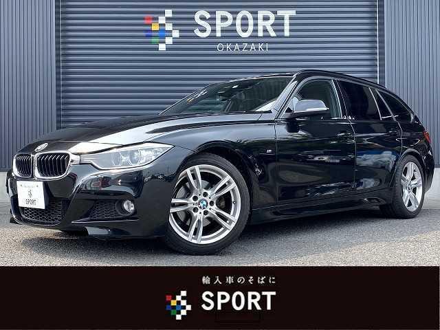 BMW 3シリーズ 320dツーリング Mスポーツ 純正HDD バックカメラ クルコン シートセットメモリー ETC スマートキー アイドリングストップ パドルシフト 純正AW レーンキープ アルカンターラシート プッシュスタート パワーバックドア