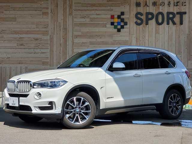 BMW X5 xDrive 35d xライン アクティブクルーズコントロール インテリジェントセーフティ 純正HDDナビ 本革シート シートヒーター・メモリー パワーバックドア LEDヘッドライト 純正アルミホイール Bluetooth ETC
