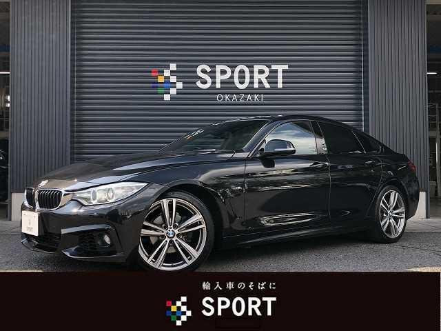 BMW 420iグランクーペ Mスポーツ HDD・Bカメラ・インテリジェントセーフティ・クルーズコントロール・パドルシフト・ETC・スマートキー・アイドリングストップ・キセノンヘッドライト・AW
