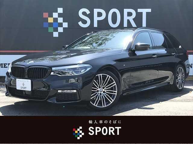BMW 523dツーリング Mスポーツ アクティブクルーズコントロール インテリジェントセーフティ ヘッドアップディスプレイ 純正HDDナビTV 全方位カメラ シートメモリー パワーバックドア LEDヘッドライト 純正アルミホイール ETC