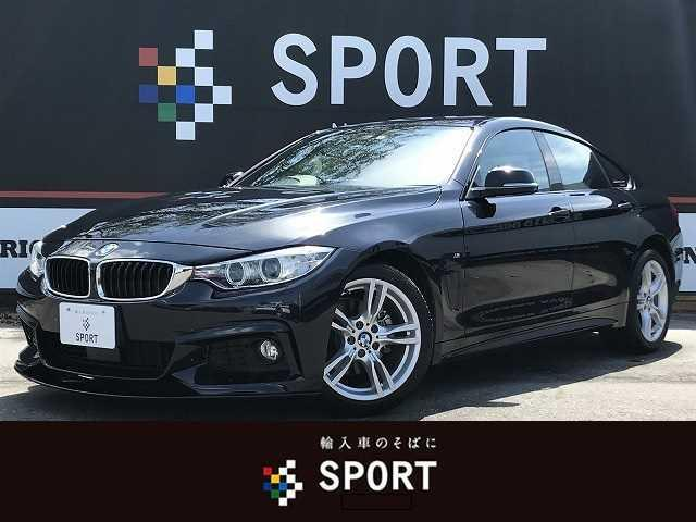 BMW 420iグランクーペ Mスポーツ アクティブクルーズ インテリセーフ 純正ナビ バックカメラ 本革シート シートヒーター・メモリー パワーバックドア 純正アルミホイール HIDヘッドライト コンフォートアクセス ミラーインETC