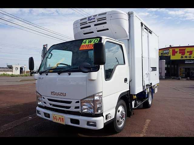 いすゞ エルフトラック 2t 4WD FFL 標準 低温冷凍車 スタンバイ付