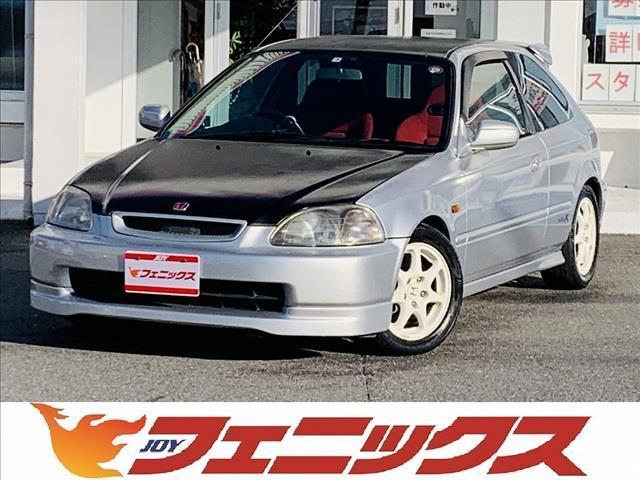 ホンダ シビック タイプR ユーザー買取車 5次元マフラー  純正レカロ ブリッツ追加メーター