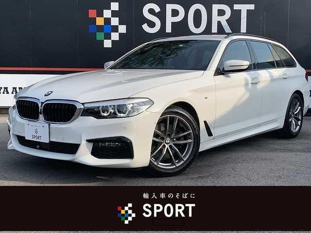 BMW 5シリーズ 523dツーリング Mスピリット アクティブクルーズコントロール インテリジェントセーフティ 純正ナビ フルセグ 全方位カメラ パワーバックドア LEDヘッドライト Bluetooth 純正AW ETC