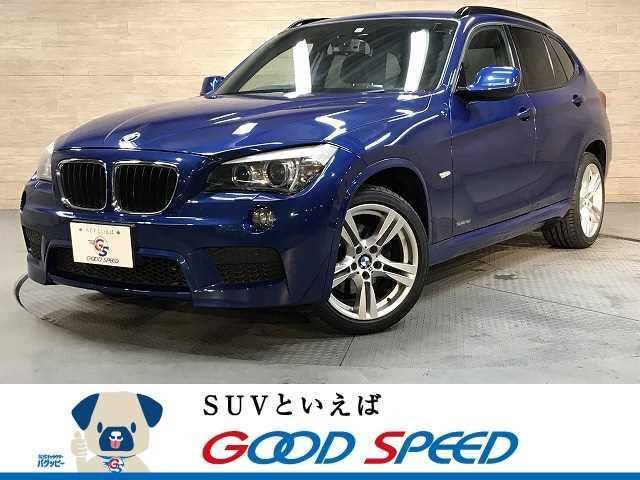 BMW X1 sDrive 18i Mスポーツ HHDナビTV コンフォートアクセス ETC HID フォグライト 純正アルミ