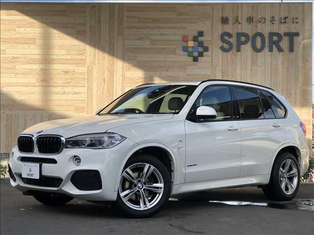 BMW X5 xDrive 35d Mスポーツ サンルーフ インテリセーフ 純正HDDナビ フルセグ バックカメラ 本革シート シートヒーター・メモリー パワーバックドア クルーズコントロール HIDヘッドライト ミラーインETC 純正アルミ
