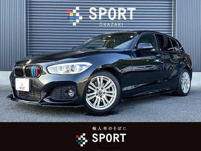 BMW 118i M Sport RHD ユーザー様下取り車両 インテリジェントセーフティ 純正HDDナビ クルーズコントロール LEDヘッドライト ミラーインETC 純正アルミホイール